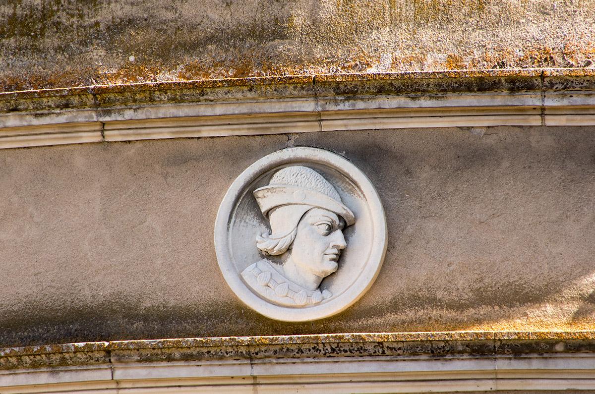 Médaillon de Louis XI