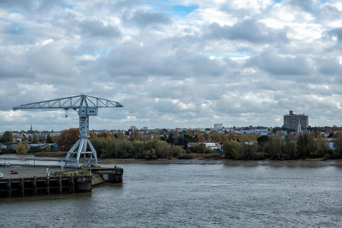 Pointe de l'île de Nantes