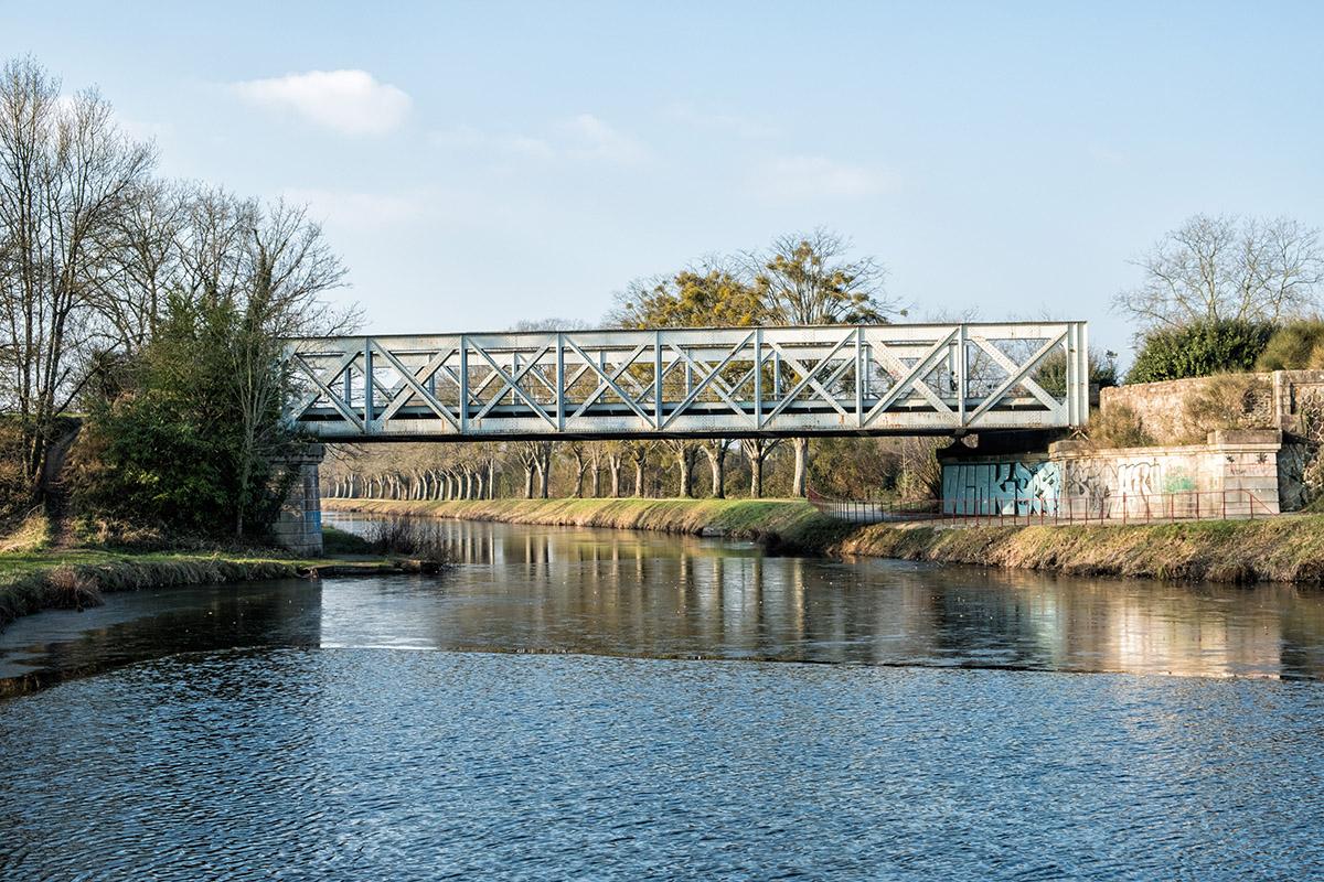Le pont SNCF