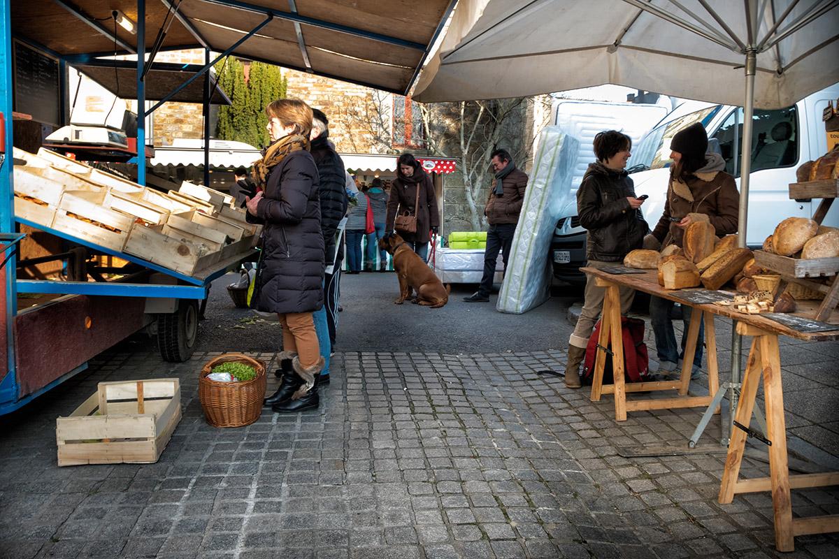 Le marché du mardi
