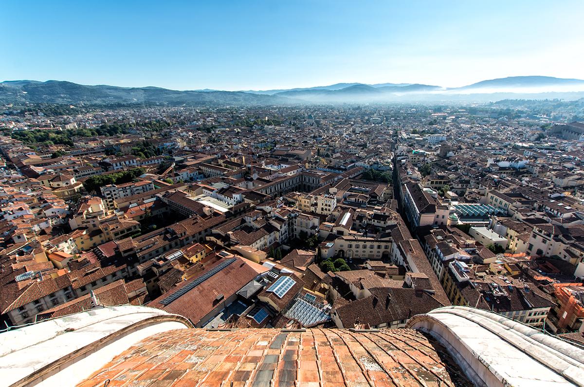 Florence du haut du Duomo