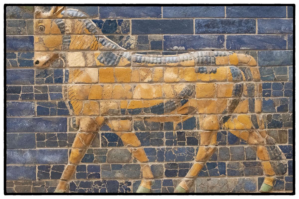 détail de la porte d'Ishtar