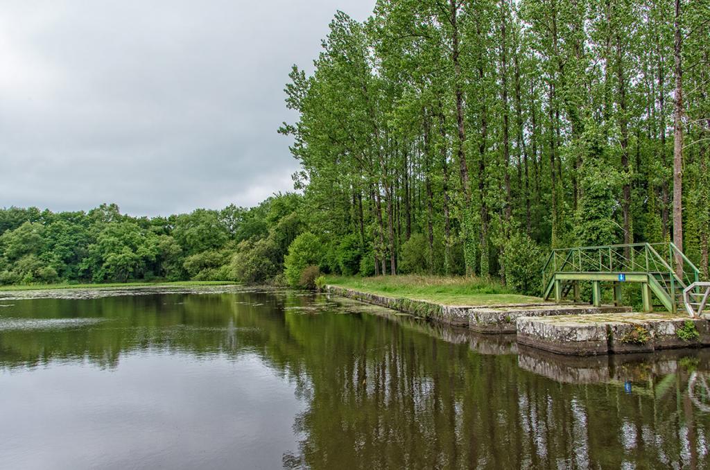 Canal de Nantes à Brest - Mellionec/Carhaix