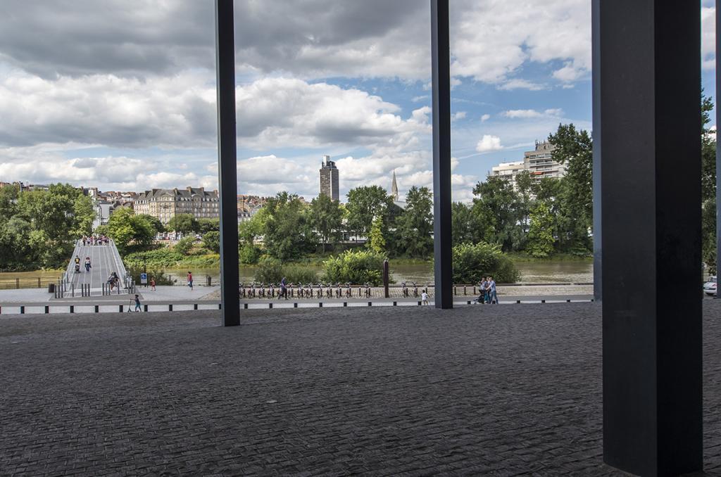 Nantes vue du palais de justice