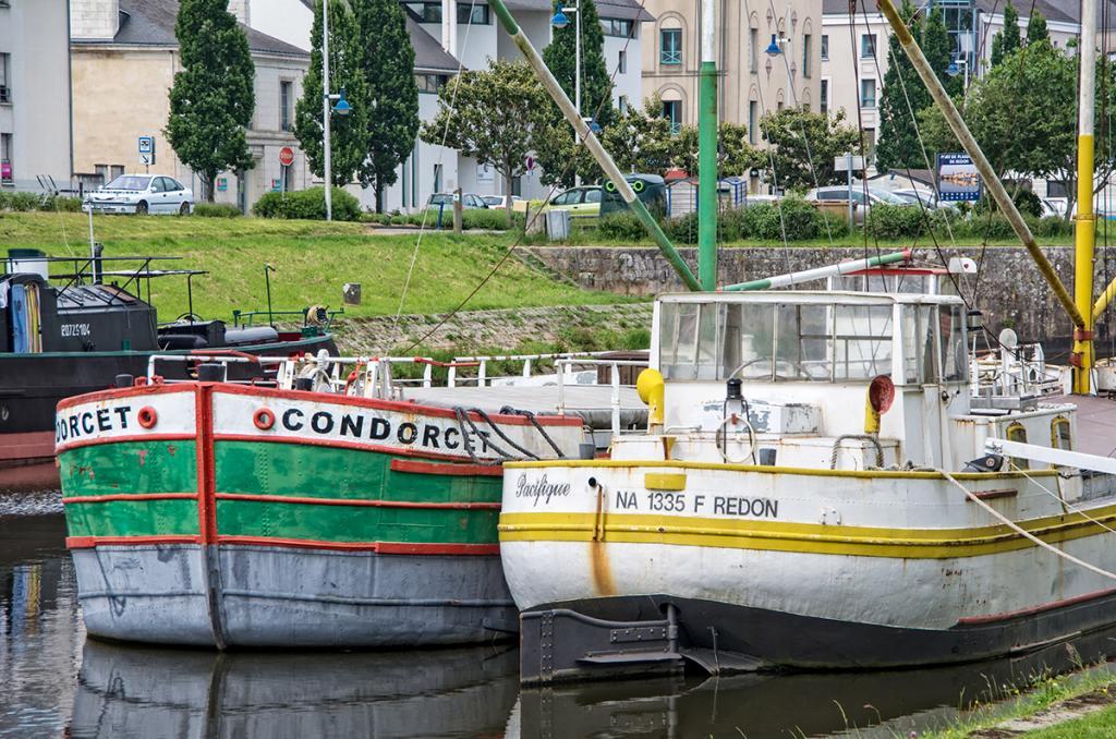Canal de Nantes à Brest (jour 1)
