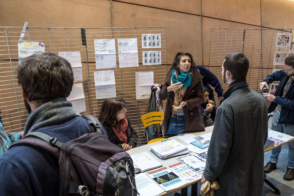 Stand du lycée Expérimental de Saint-Nazaire