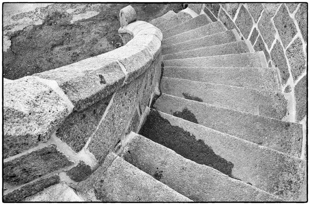 Escalier de l'église