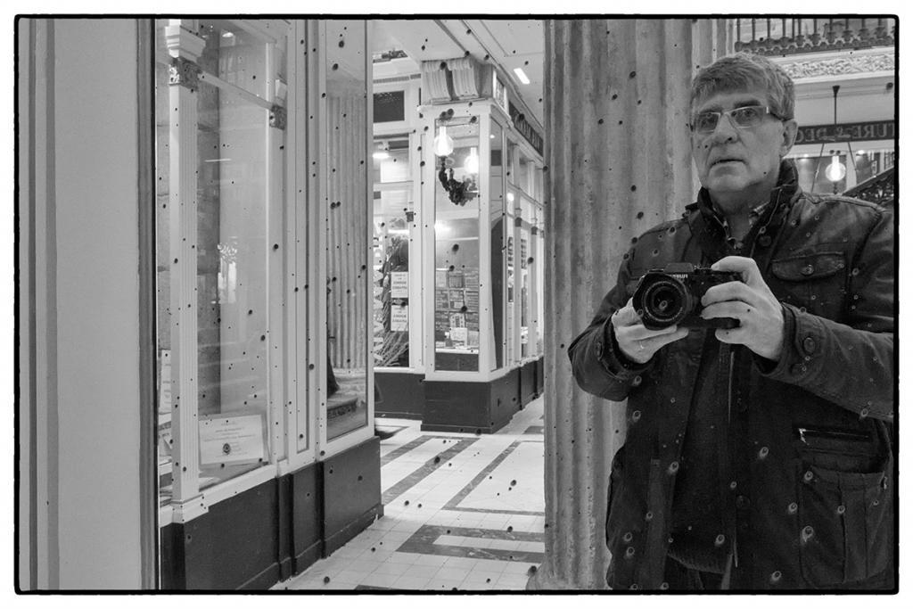 autoportrait au vieux miroir